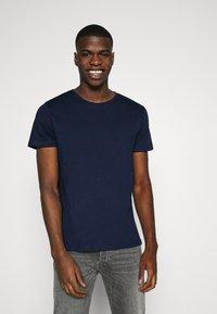 Burton Menswear London - SHORT SLEEVE CREW 10 PACK - T-shirt basic - black/white/indigo - 5