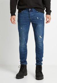 Only & Sons - ONSLOOM DAMAGE - Slim fit jeans - blue denim - 2