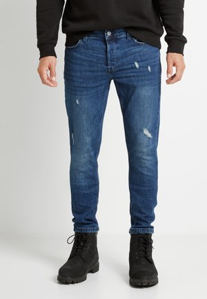 ONSLOOM DAMAGE - Džíny Slim Fit - blue denim