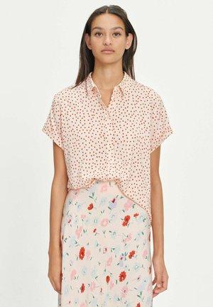 ALSOP - A-line skirt - pink garden