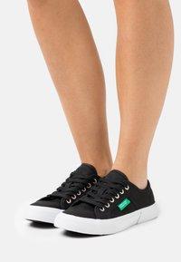 Benetton - TYKE - Sneakers laag - black - 0