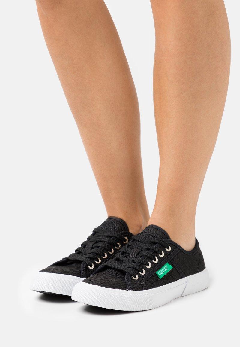 Benetton - TYKE - Sneakers laag - black