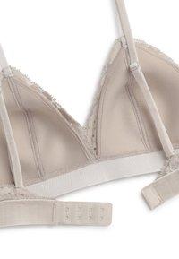 OYSHO - Triangle bra - light grey - 6