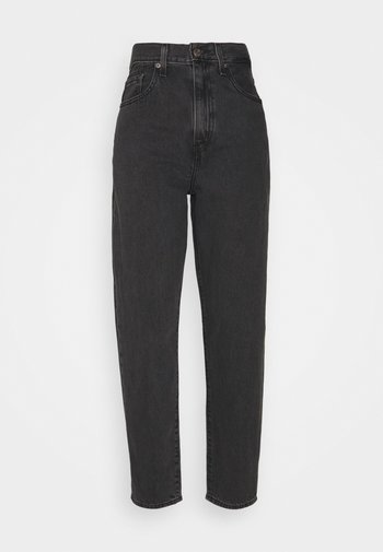 HIGH LOOSE TAPER - Relaxed fit jeans - grey denim