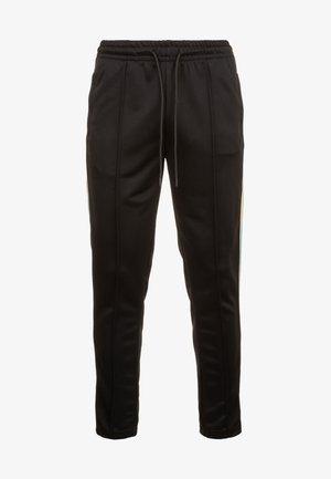 SIDE TAPED  - Tracksuit bottoms - black