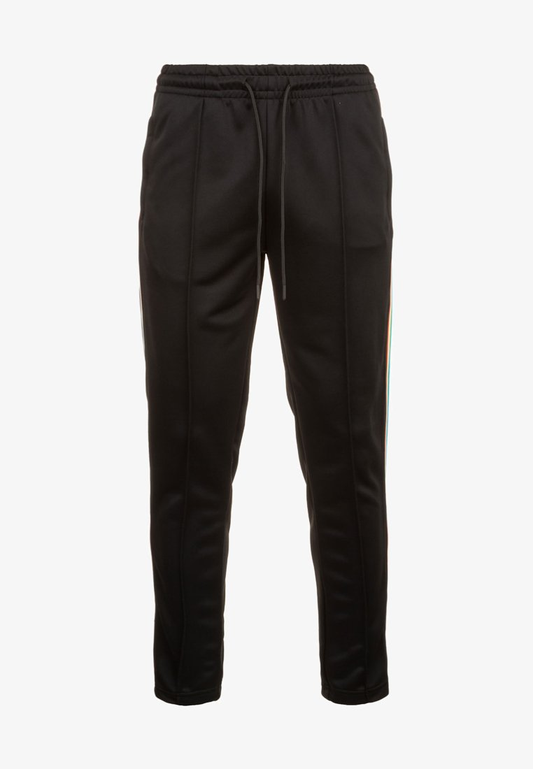 Urban Classics - SIDE TAPED  - Tracksuit bottoms - black