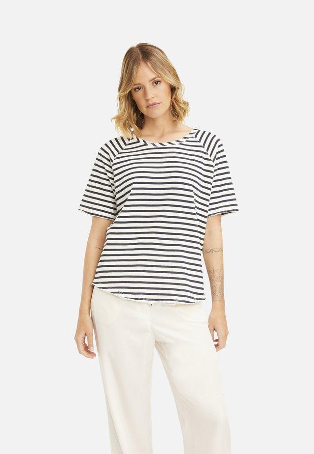 T-shirt basic - marine print