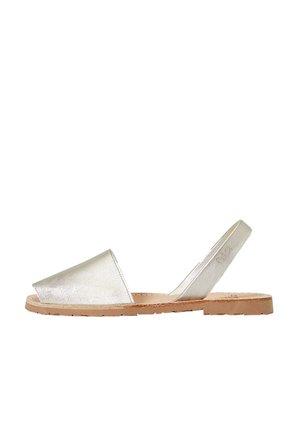 METALLIC RIA MENORCA  - Sandals - gold