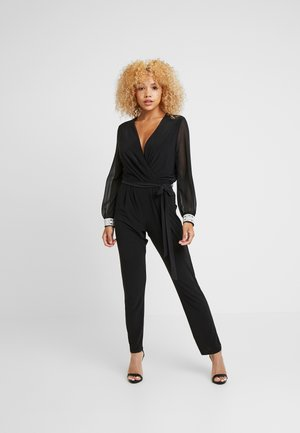 DISCO TRIM - Overall / Jumpsuit - black