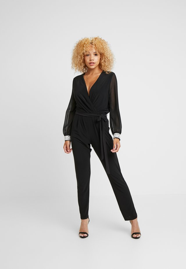 DISCO TRIM - Jumpsuit - black