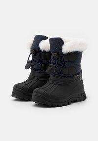 Kickers - SEALSNOW UNISEX - Winter boots - marine/multicolor - 1