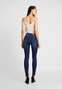 Noisy May - NMJEN SHAPER - Jeans Skinny Fit - dark blue denim - 2