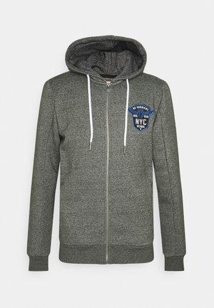 Zip-up sweatshirt - forest