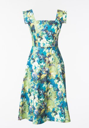 Korte jurk - flower print