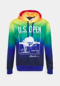 Polo Ralph Lauren Golf - HOODIE LONG SLEEVE - Luvtröja - bright royal multicolor - 0