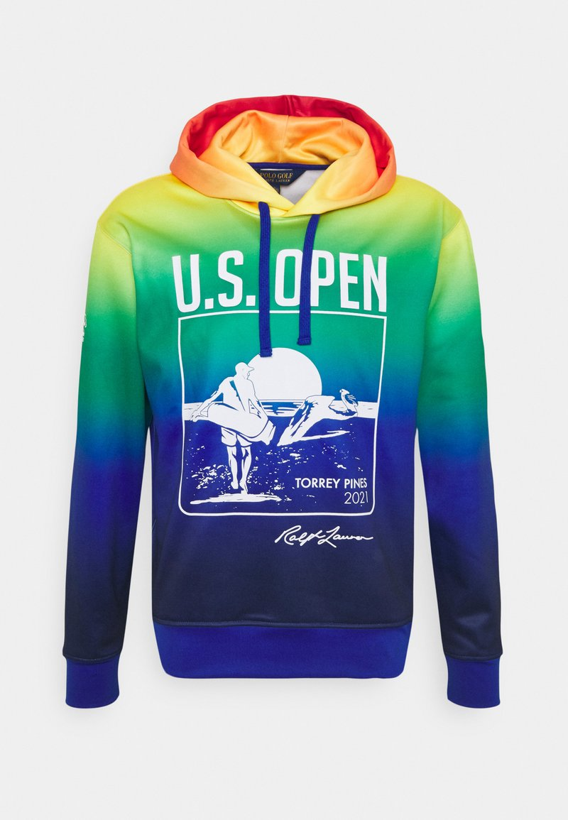 Polo Ralph Lauren Golf - HOODIE LONG SLEEVE - Luvtröja - bright royal multicolor