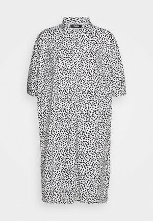 Košilové šaty - white/black