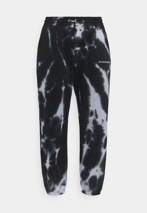 TIE DYE JOGGER - Pantalones deportivos - black