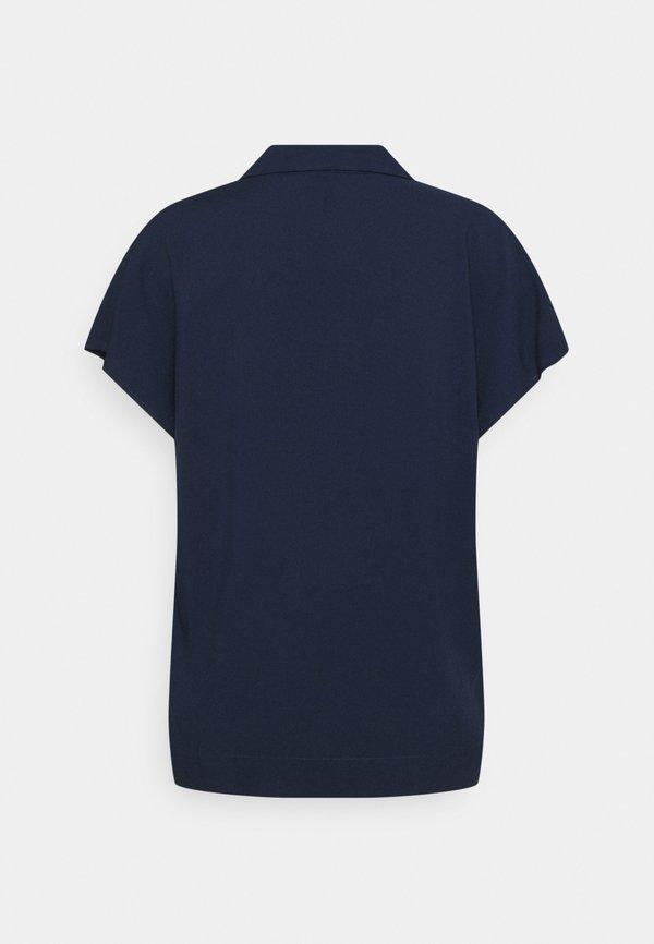 Vero Moda Tall VMFELICITY - Bluzka - navy blazer/granatowy MUZY