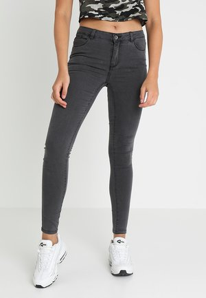 VMJULIA FLEX - Skinny džíny - dark grey denim