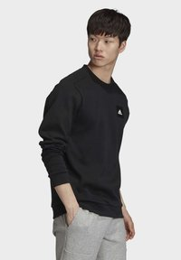 adidas Performance - MUST HAVES CREW SWEATSHIRT - Sweatshirt - black - 3