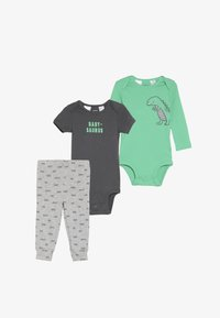 Carter's - LITTLE CHARACTER BABY SET - Body - green - 6