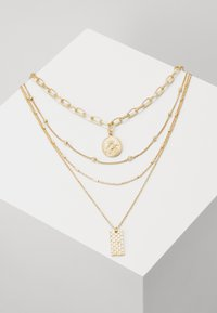 Pieces - PCKLARA COMBI NECKLACE - Halskæder - gold-coloured - 0