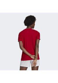 adidas Performance - SQUADRA 21 - T-shirts med print - team power red white - 2