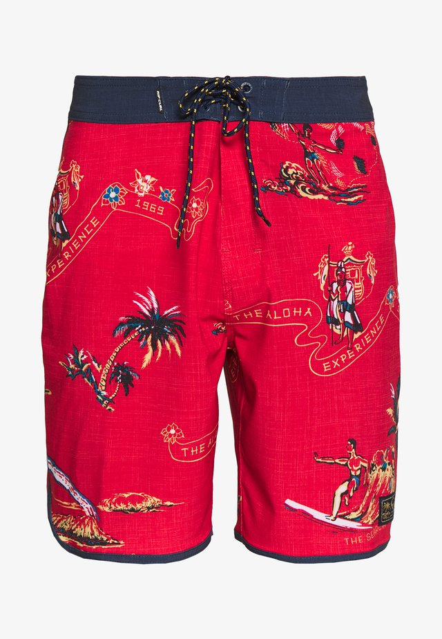 MIRAGE VELZY - Zwemshorts - bright red