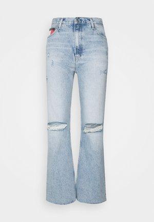 HARPER  - Džíny Straight Fit - light-blue denim