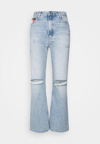 HARPER  - Straight leg jeans - light-blue denim
