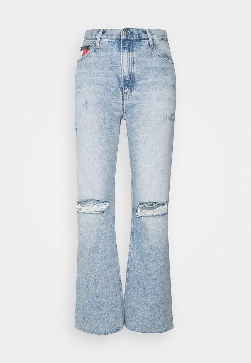 Tommy Jeans - HARPER  - Straight leg jeans - light-blue denim