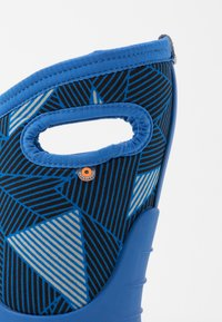 Bogs - CLASSIC BIG GEO - Winter boots - blue/multicolor - 5