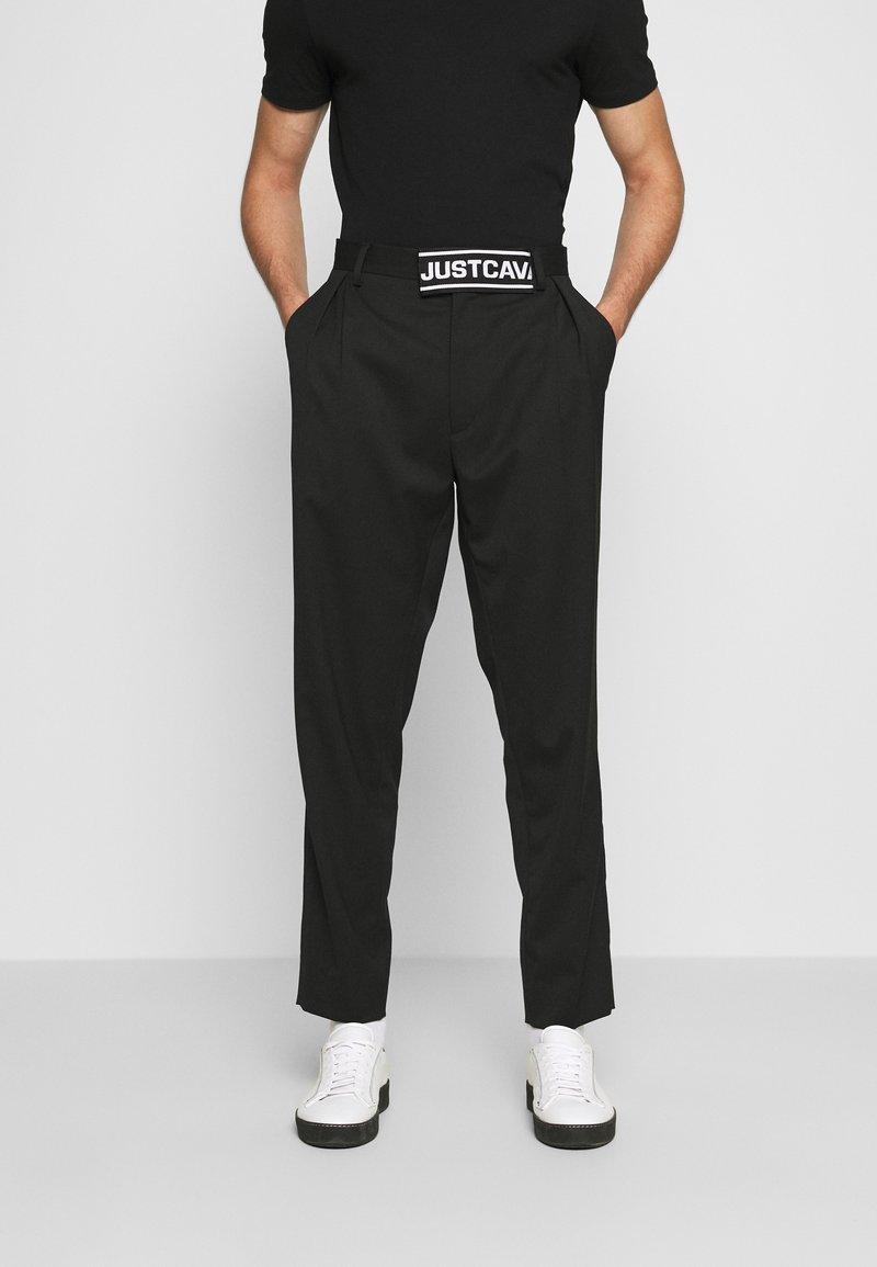 Just Cavalli - PANTALONE - Kalhoty - black