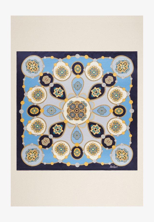 RIGORE - Foulard - geometrico, blu-pervinca