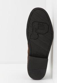Polo Ralph Lauren - TALAN CHUKKA BOOTS CASUAL - Zapatos con cordones - chocolate brown - 4