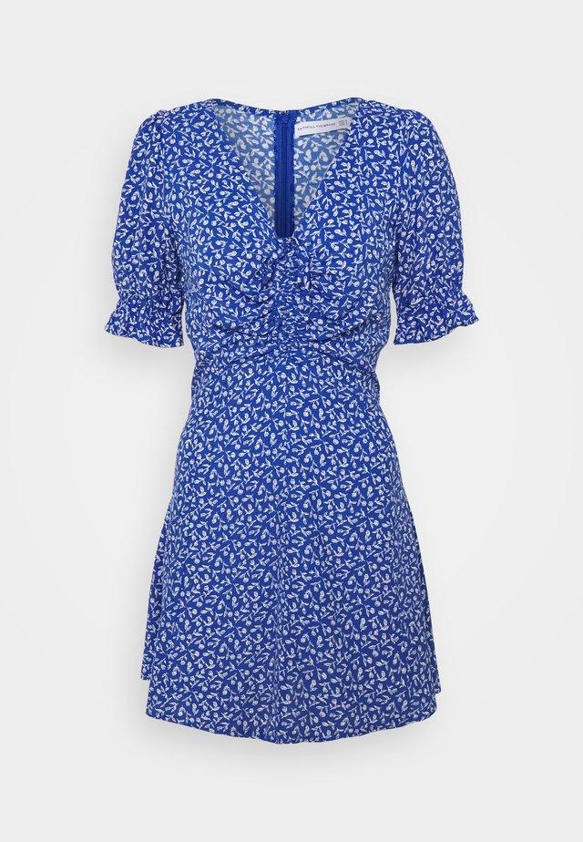 PALMA MINI DRESS - Denní šaty - vintage blue