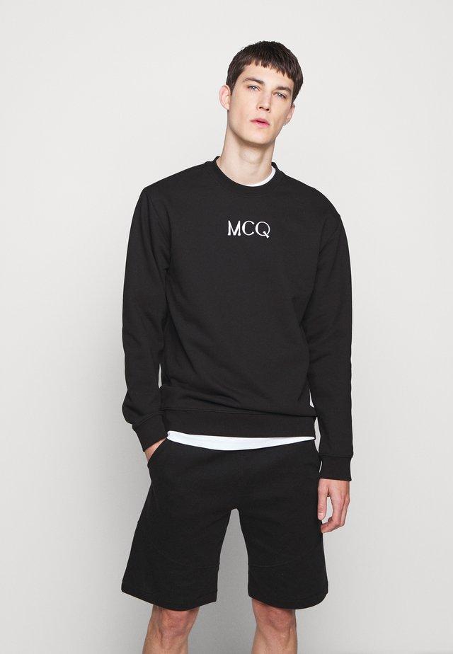 Sweater - darkest black