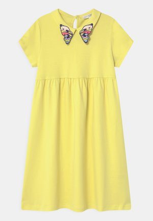 Jersey dress - straw yellow