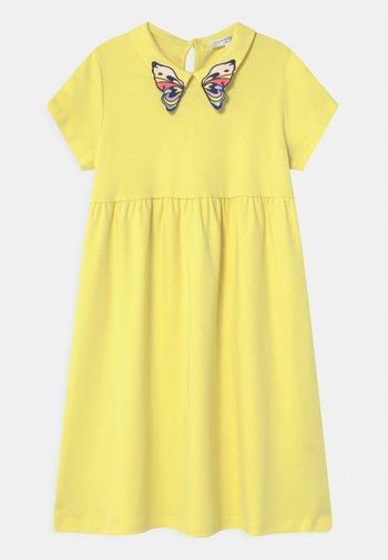 Jersey dress - straw yellow