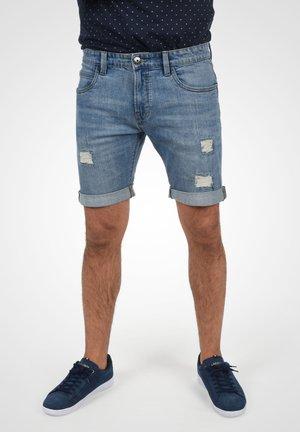 Denim shorts - blue wash