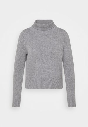 HIGHNECK - Strickpullover - opal grey
