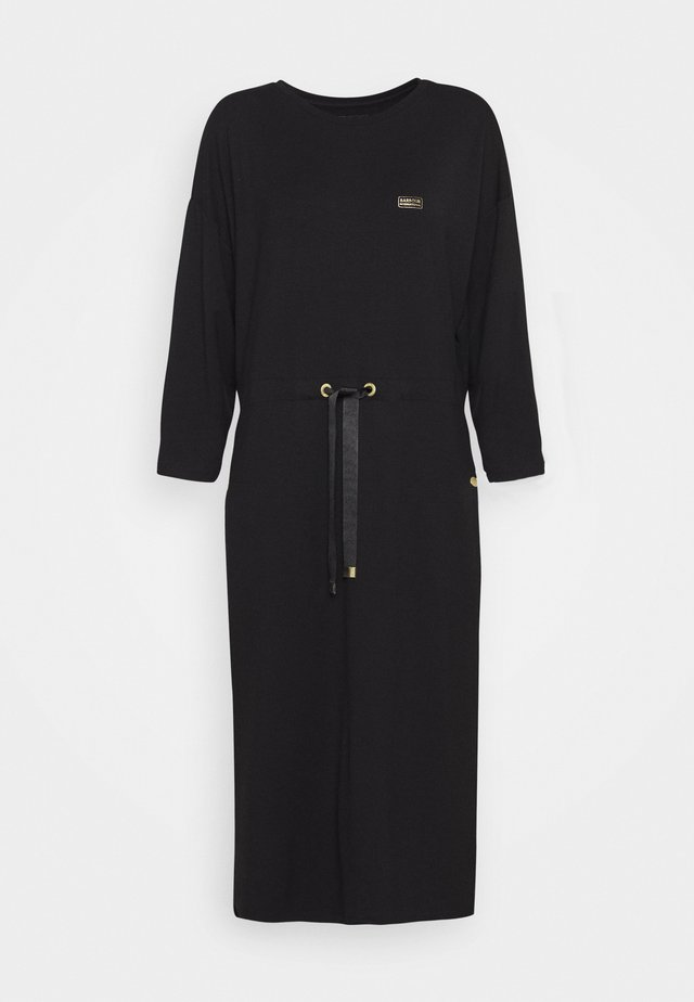 KENDREW DRESS - Robe en jersey - black