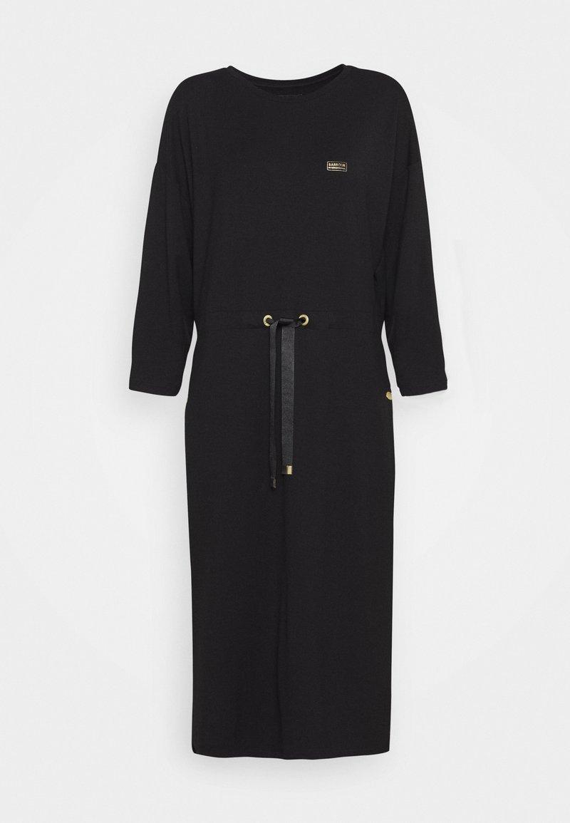 Barbour International - KENDREW DRESS - Sukienka z dżerseju - black