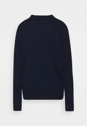 TURTLE NECK - Neule - navy