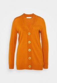 Tory Burch - BOYFRIEND SIMONE - Cardigan - orange rust - 0