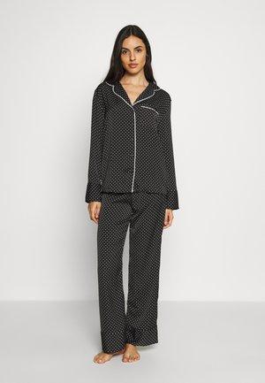 HANGING PYJAMA SPOT - Pyjama set - black