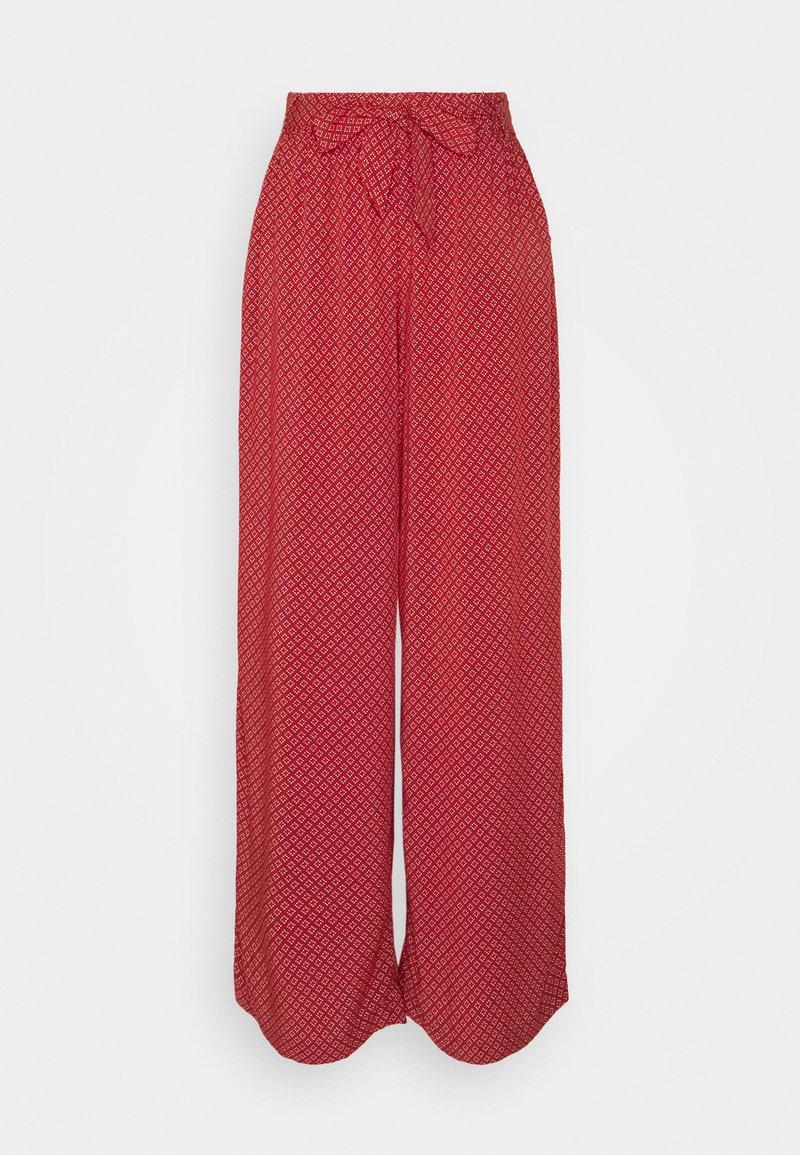 edc by Esprit - FLUENT - Trousers - terracotta