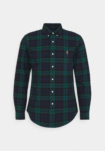 Shirt - green/navy