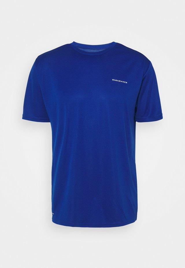 VERNON PERFORMANCE TEE - Basic T-shirt - deep ocean